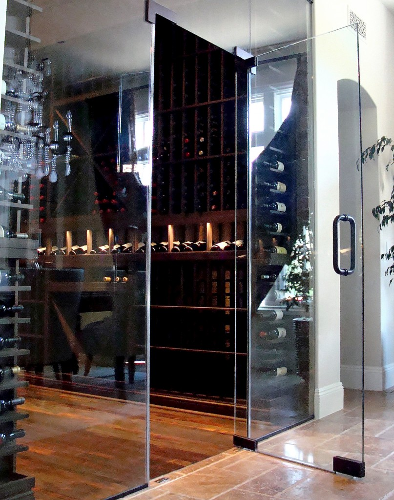 Beautiful Custom Wine Cellar in Nevada Designed by Coastal