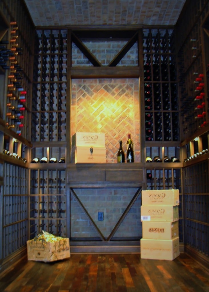 Custom Wine Cellar in Nevada Designed by Coastal
