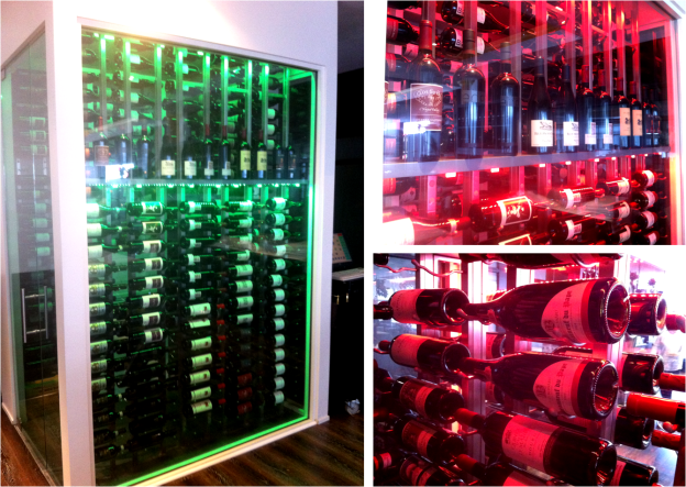 Restaurants Can Have a Stunning Nevada Commercial Wine Cellar in a Limited Space