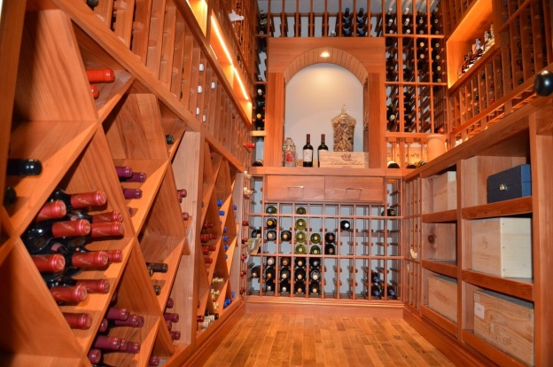 Las Vegas Custom Wine Cellars Designs and Builds a Unique Storage Room in Las Vegas, Nevada