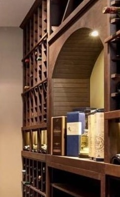 Custom Wine Rack Design by Creative Wine Cellar Contractors in Las Vegas
