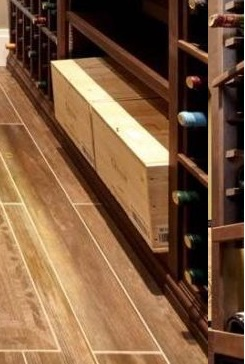 Custom Wine Racks with Wooden Case Storage