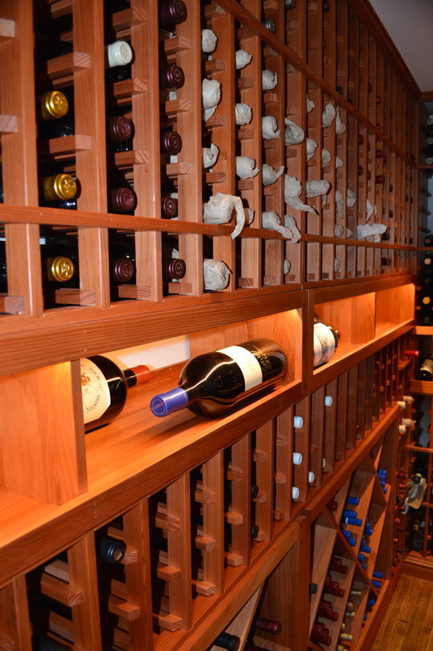 List of Wood Types Used in the Construction of Custom Wine Cellars
