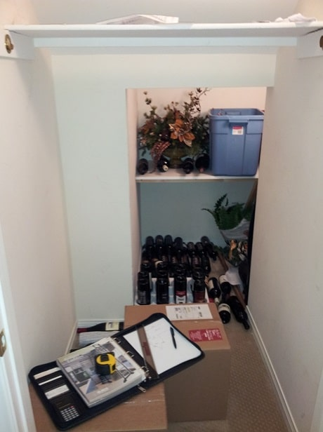 Read another under-the-stairs cellar project here!