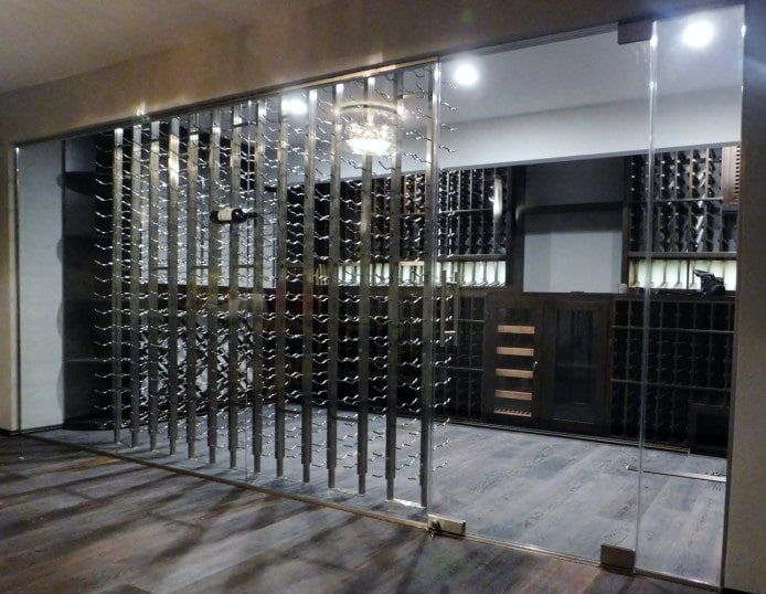 Read more about metal wine racks here!