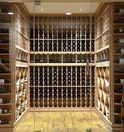 Unique Home Wine Cellar Layout Made by an Expert Contractor in Las Vegas
