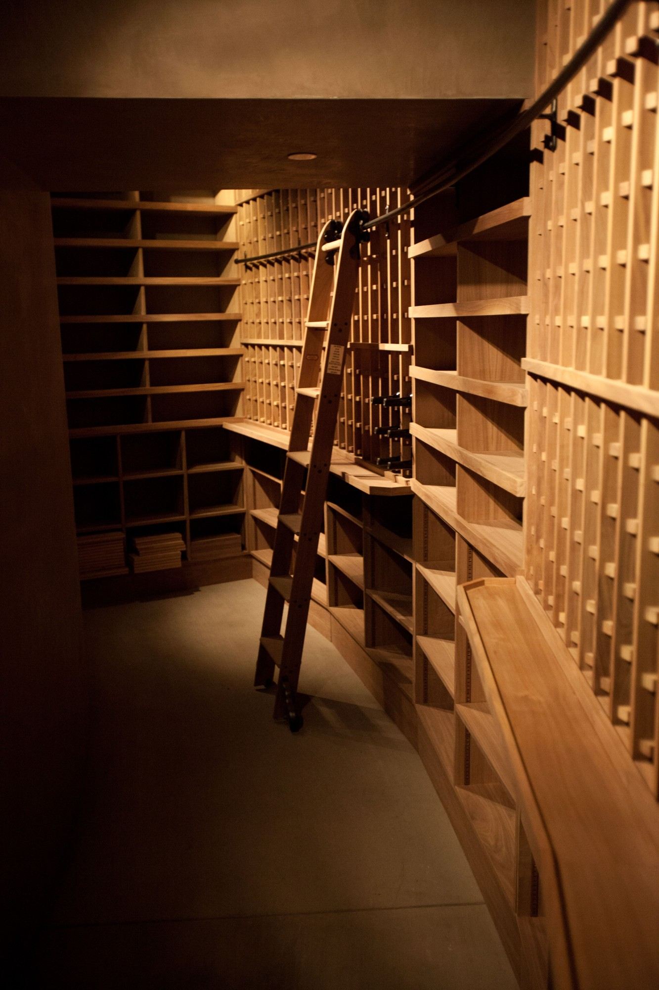 Beautiful Traditional Custom Wine Cellar Design Created for Marciano Winery in Napa Valley Las Vegas
