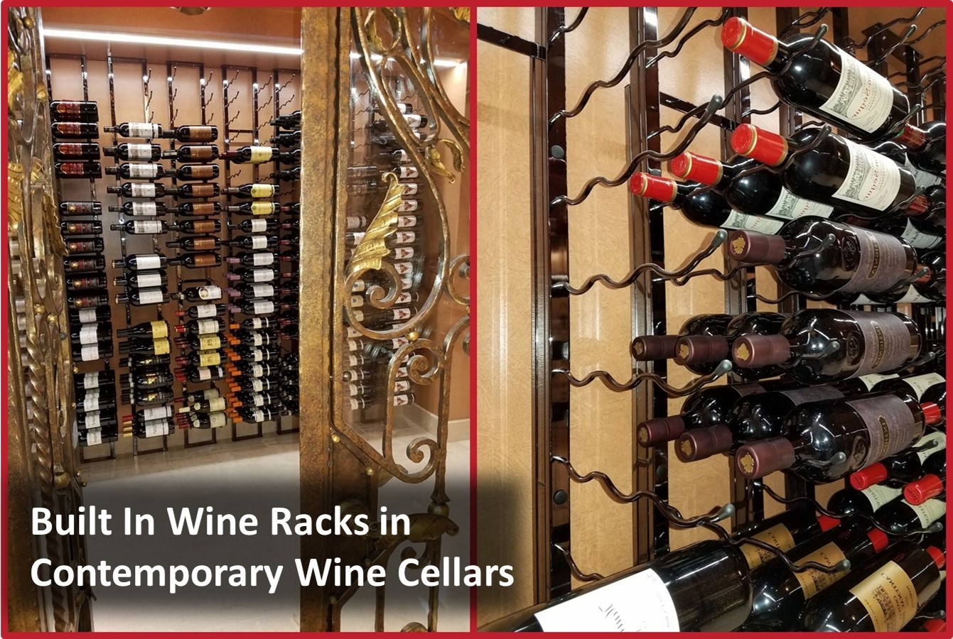 Wine Storage Cellars and Displays in Las Vegas, Nevada, Designs That Work – Stunning Homes and Practical Solutions