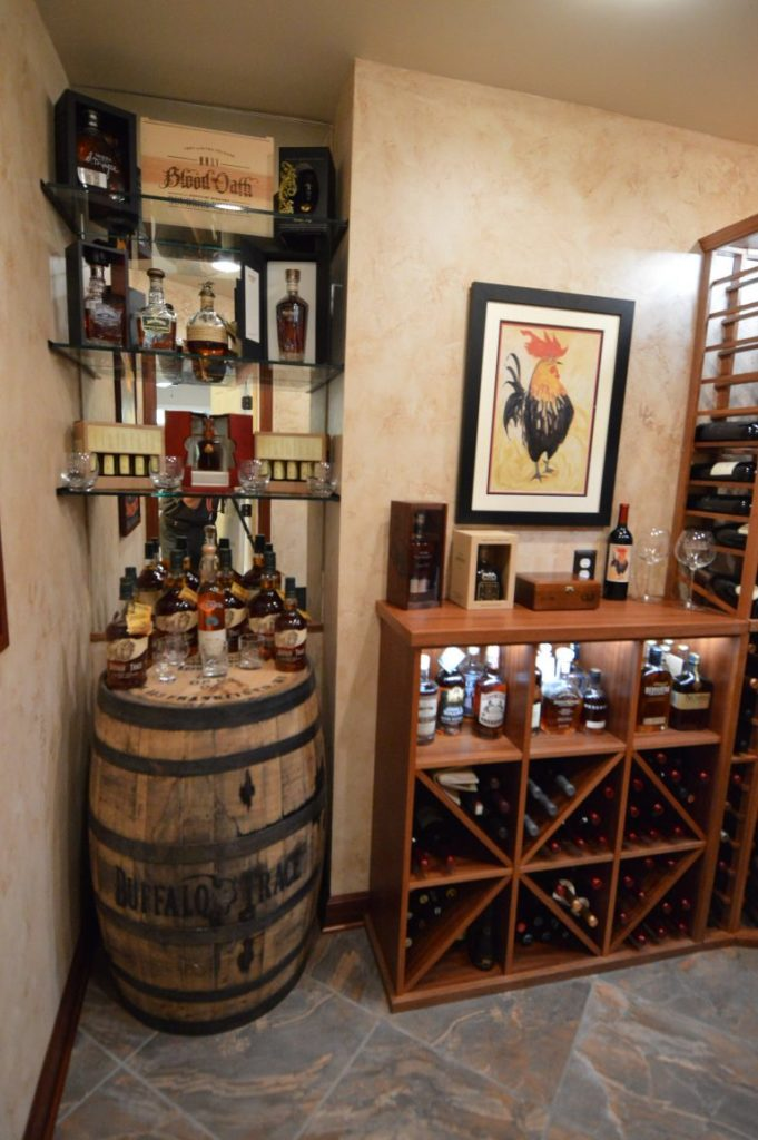Click on photo to get FREE 3D wine cellar design!