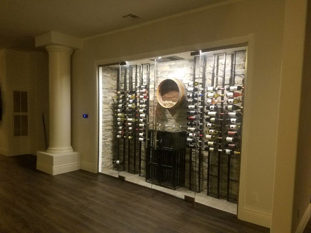 Click here to learn more about wine cellar designs!