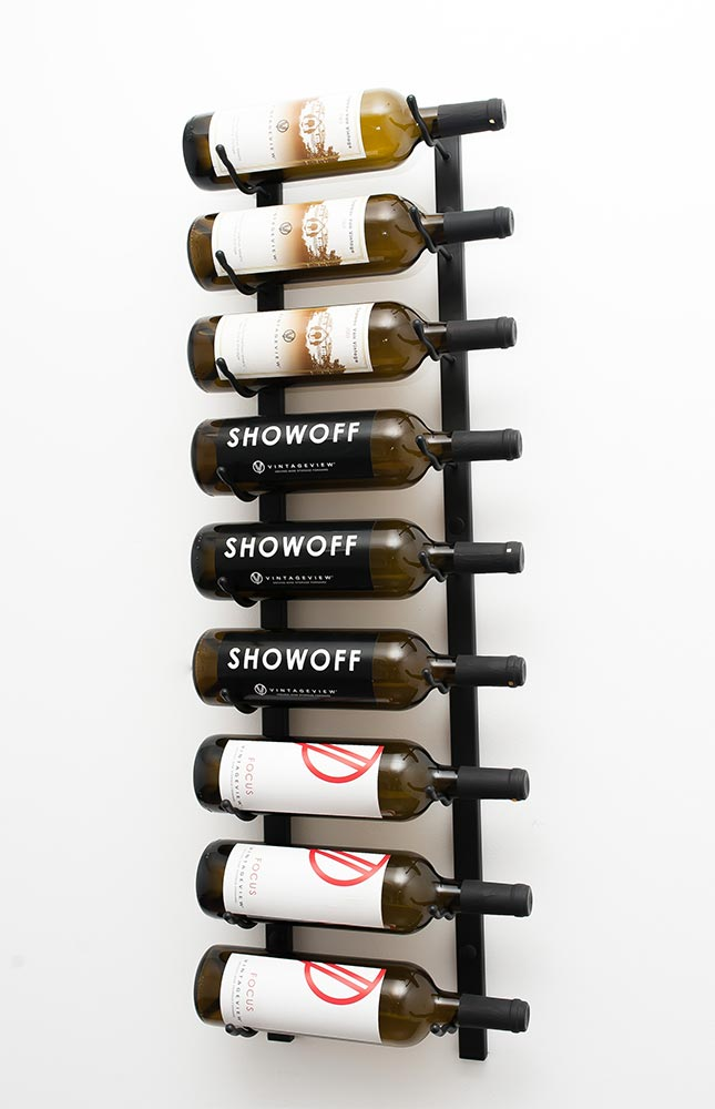 Nine Bottle Wall Mounted VintageView Wine Cellar Racks Las Vegas