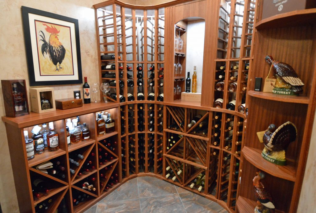 Read about the top two wood species for wine racks here!