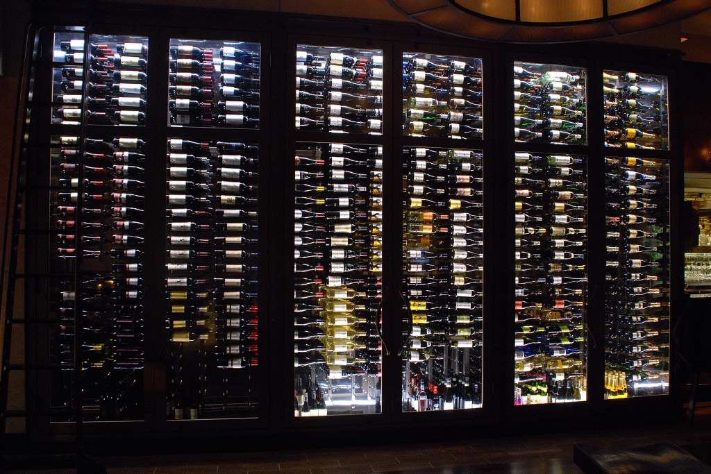 Read about the best racks for a commercial wine cellar here!