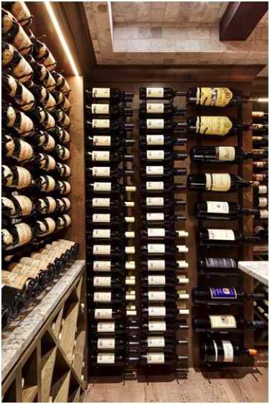 Stellar Custom Wine Racks Installed by Las Vegas Master Builders