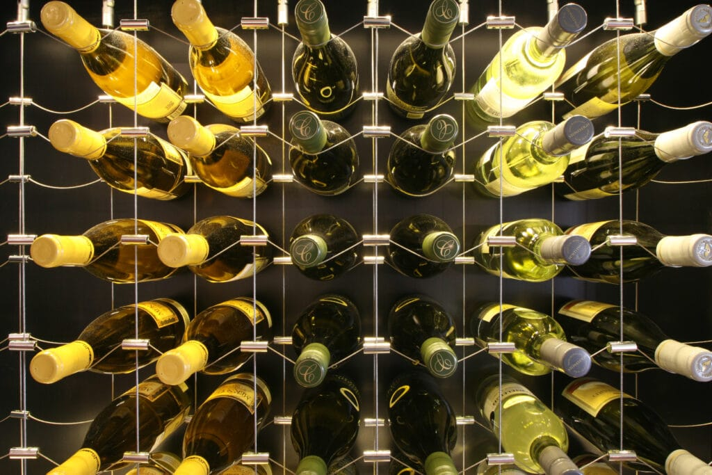 Read tips on how to build a wine cellar here!