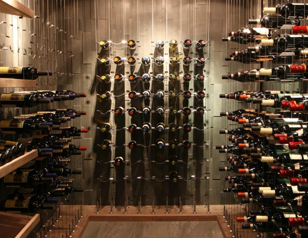 Read more modern wine cellar designs here!