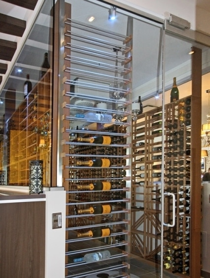Amazing Commercial Wine Display Built by Las Vegas Wine Cellar Installers
